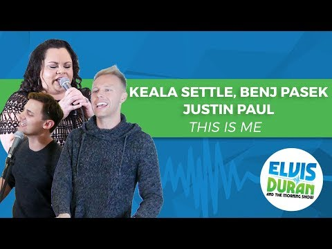 gratis download video - Keala-Settle-Benj-Pasek-Justin-Paul--This-Is-Me-The-Greatest-Showman--Elvis-Duran-Live