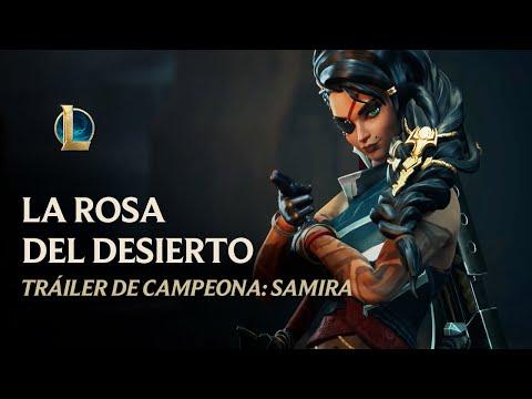 Samira, la Rosa del Desierto - Tráiler | League of Legends