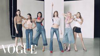 6 Models Make Moves in Spring's Most Personal Denim - Vogue