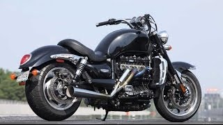 3. Triumph rocket 3 w/ carpenter race exhaust
