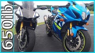 6. New 2017 Suzuki GSX-R1000R vs Yamaha R1M