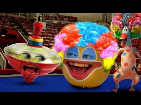 Annoying Orange - Big Top Orange (Ft. Madagascar 3 Gang)
