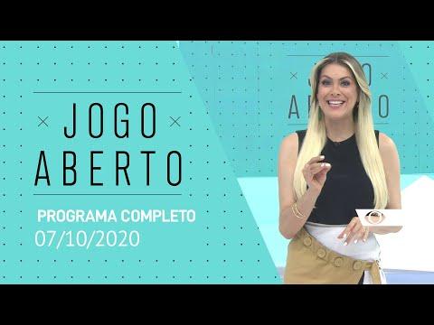 JOGO ABERTO - 07/10/2020 - PROGRAMA COMPLETO