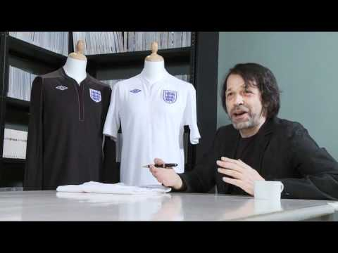 0 UMBRO  England Home Kit By Peter Saville | Behind The Scenes Video