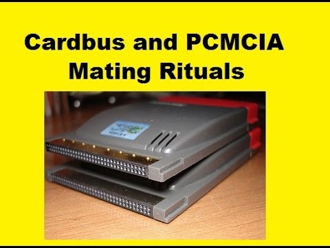 Hardware PCMCIA Cards and the CardBus