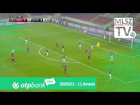 11. forduló: Fehérvár - DVTK 3-0 (1-0)