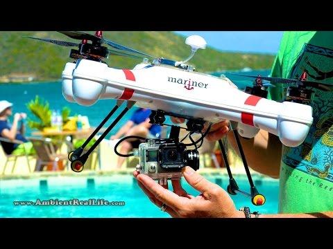 Swellpro Splash Drone PRO Version (Mariner2) Waterproof Drone with Waterproof Gimbal