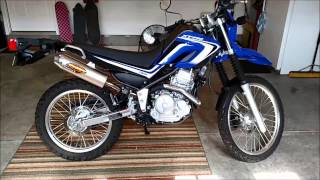 5. 2014 Yamaha XT250 FMF Powercore 4 Muffler Install