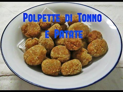video ricetta: bimby - polpette di tonno e patate