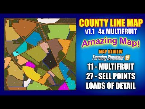 FS19 CountyLine v1.0.0.0
