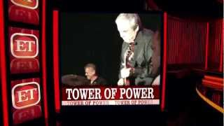 Video TOWER OF POWER on ENTERTAINMENT TONIGHT Weekend Show 3/23/2013 MP3, 3GP, MP4, WEBM, AVI, FLV Mei 2019