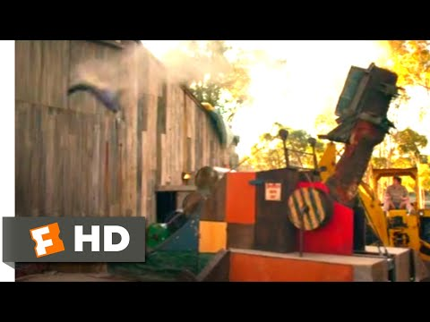 Action Point (2018) - Trebuchet Mishap Scene (8/10)   Movieclips
