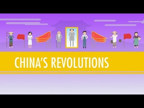 communism - Don't forget! Crash Course posters and t-shirts at http://www.dftba.com/crashcourse In which John Green teaches you about China's Revolutions. While the rest...