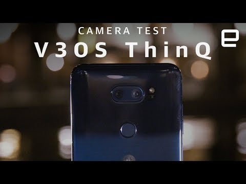 LG V30S ThinQ Low Light Camera Test at MWC 2018