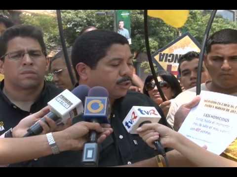Primero Justicia: Nicolás Maduro no hace nada por la violencia en Venezuela, sólo se preocupa por lo que pasa en otros países
