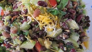 Recipe | How To Make Mexican 3 Bean Salad (Side Dish)