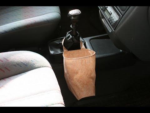 Sammelbehälter/Mülleimer fürs Auto nähen