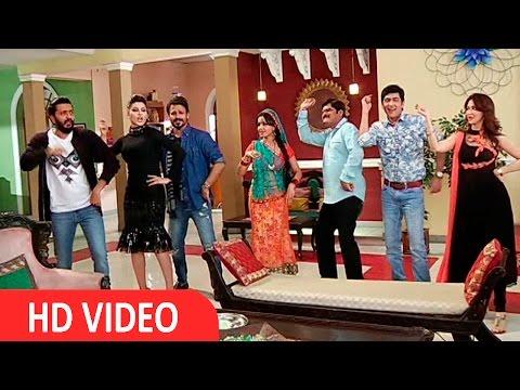 Vivek Oberoi, Riteish Deshmukh & Urvashi Rautela On Set Of Bhabi Ji Ghar Par Hai!