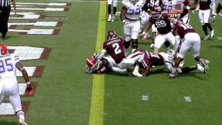 Mike Gillislee vs Texas A&M (2012)