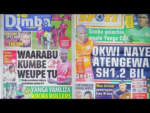 MICHEZO Magazetini Jumapili 18/3/2018:Simba out,Yanga shirikisho