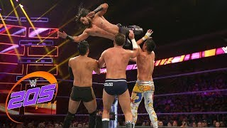 Nonton Mustafa Ali Vs  Tjp Vs  Hideo Itami Vs  Drew Gulak  Wwe 205 Live  July 24  2018 Film Subtitle Indonesia Streaming Movie Download