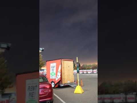 Fire in Butte County, Chico. NOV 8 2018