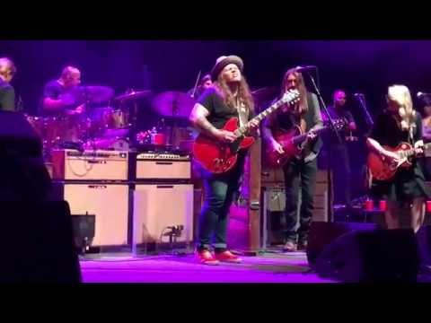 "Tedeschi Trucks, Marcus King, Oliver Wood - For My Friend & Sweet Virginia"" 10/10/17 At The Beacon"