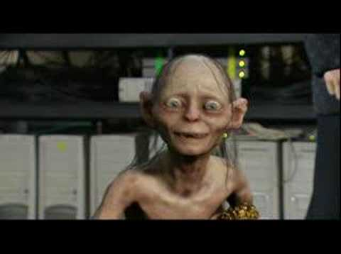Gollum - Gollum wins an Award on MTV.