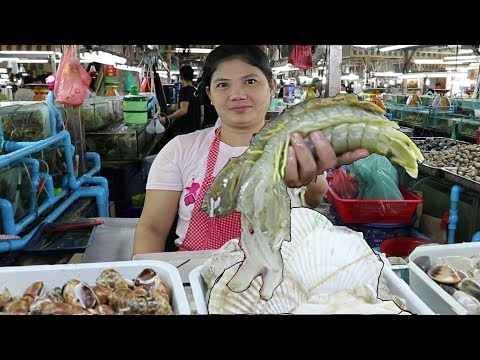 Phuket Seafood: The Freshest Seafood in Patong. Banzaan Food Market Phuket Thailand