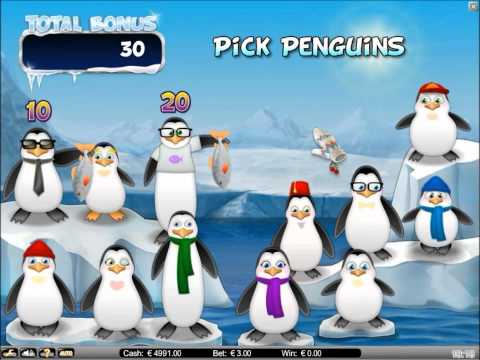 Icy Wonders Progressive Slot - Bonus feature