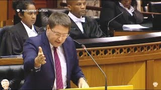 Watch David Maynier of the DA outlines all the economic plans of the ANC and Jacob Zuma MY AFRICA welcomes all comments...
