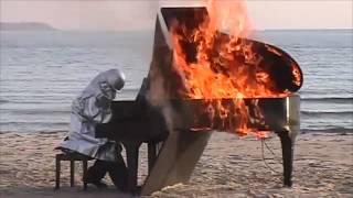 Video Soulglue -  Piece (Yosuke Yamashita playing a burning piano edit) MP3, 3GP, MP4, WEBM, AVI, FLV Agustus 2018