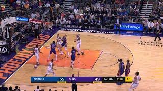 2nd Quarter, One Box Video: Phoenix Suns vs. Detroit Pistons