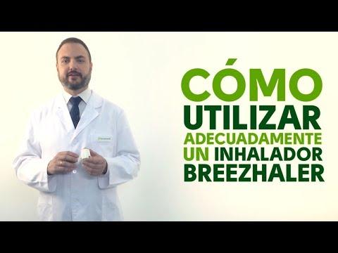 Cómo utilizar correctamente un inhalador Breezhaler
