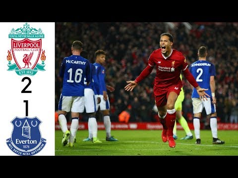 Liverpool Vs Everton -  All Goals & Extended Highlights 06/01/2018 HD