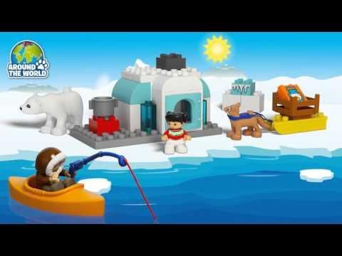 Конструктор Вокруг света: Арктика - LEGO DUPLO - фото № 4