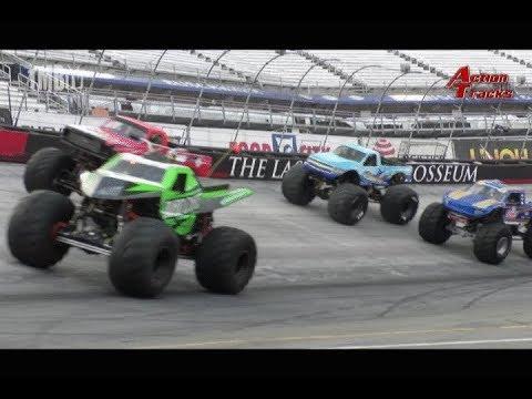 TMB TV: ActionTracks 9.5 - Bristol Motor Speedway - Bristol, TN 2018 Monster Truck Madness 7/14/18