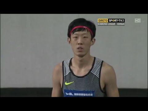 Zhang Guowei 2.25 Shanghai Diamond League 14.05.2016 ( men high jump )