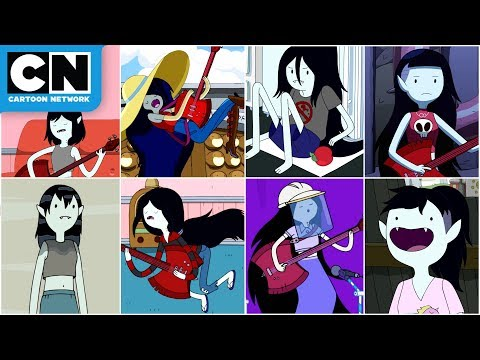 Every Marceline Song Ever | Adventure Time | Cartoon Network
