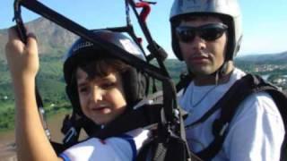 Voo Duplo EROS Paraglider Valadares 2008