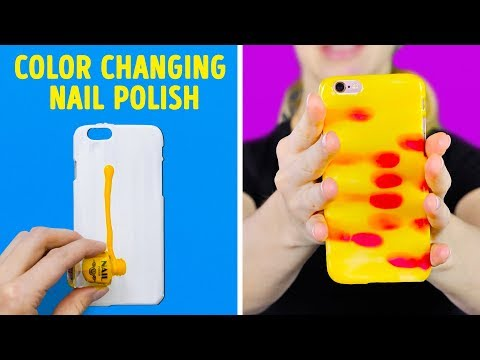 17 COOL CRAFTS AND DIYs FOR YOUR PHONE (видео)