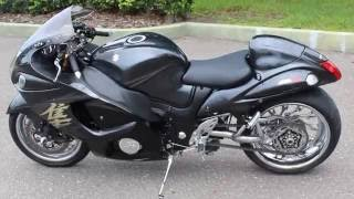7. SOLD! 2008 SUZUKI HAYABUSA GSXR1300R REVIEW SINGLE SIDED SWING ARM