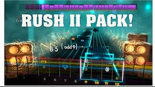 """Rush II Song Pack – $11.99 / Steam Rush """"Closer To The Heart"""" Rush """"Fly By Night"""" Rush """"Freewill"""" Rush """"La Villa Strangiato""""..."""