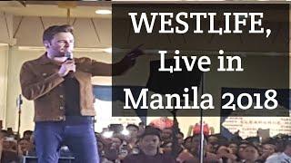 Video WESTLIFE Live in Manila 2018 Tour - Shane Filan MP3, 3GP, MP4, WEBM, AVI, FLV Juni 2018