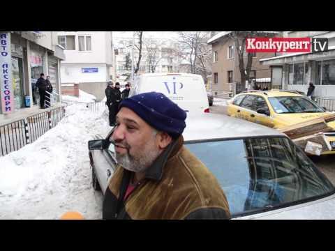 Зрелищна катастрофа с инкасо във Враца