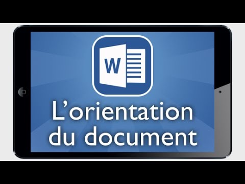 comment modifier document word sur ipad