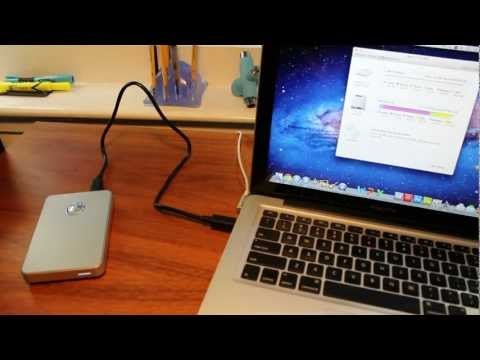 G-Drive Mobile 1TB Memory Drive: Unboxing/Review (Mac)