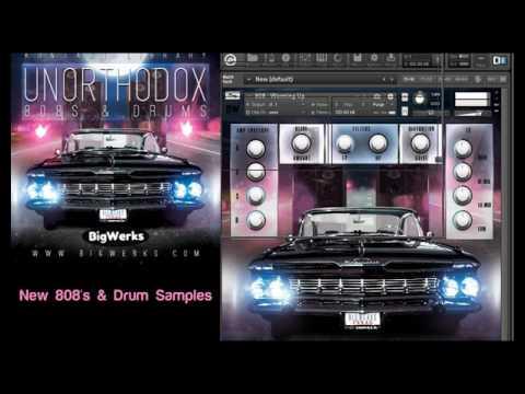 Unorthodox 808s & Drum kit Kontakt Bundle - BigWerks
