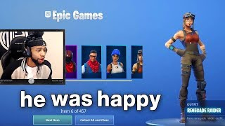 I Tried Merging My Renegade Raider Fortnite Account with Popular Twitch Streamers
