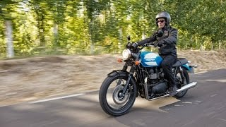 6. Special-edition Triumph Bonneville, unveiled at the Intermot fair in Cologne, Germany